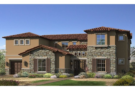 Las vegas luxury new homes in southern highlands starting for New modern homes las vegas