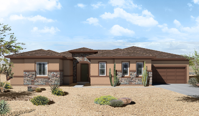 Las Vegas New Homes Single Story Starting At 414 950 In